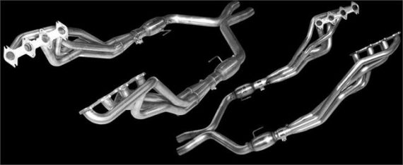 05-10 Mustang GT American Racing Long Tube Header