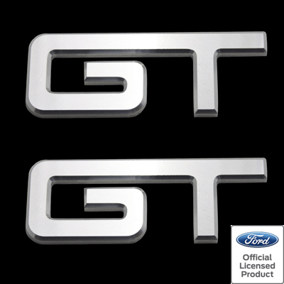 Mustang Billet Gt Emblem Set
