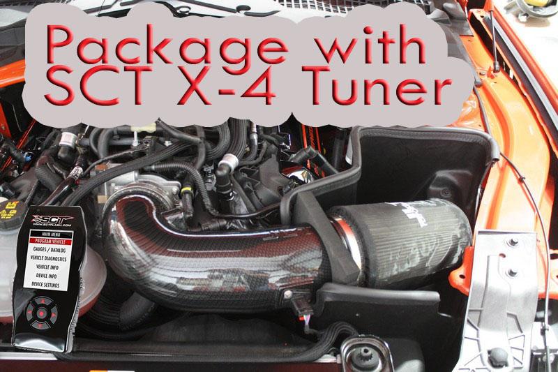 Pkg Jlt Hydrocarbon Cold Air Intake Sct X4 15 17 Gt350